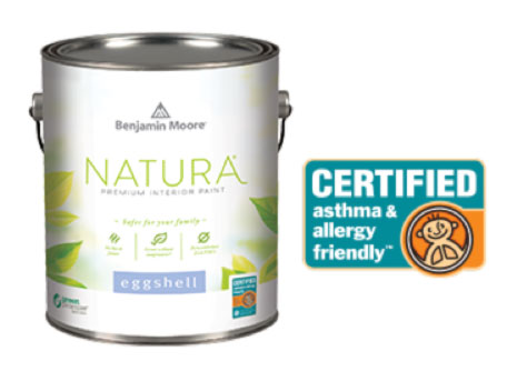 Benjamin Moore Natura™—Certified asthma & allergy friendly™.
