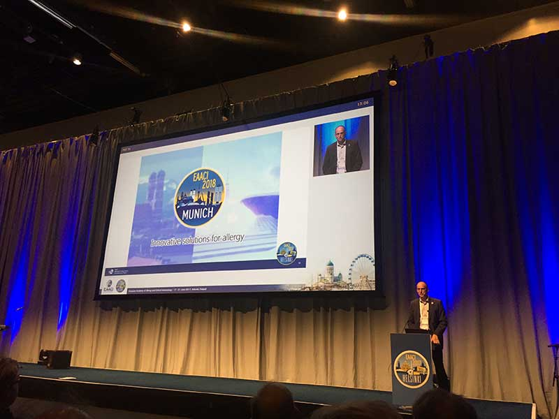 EAACI 2018 Munich innovation solutions for allergy