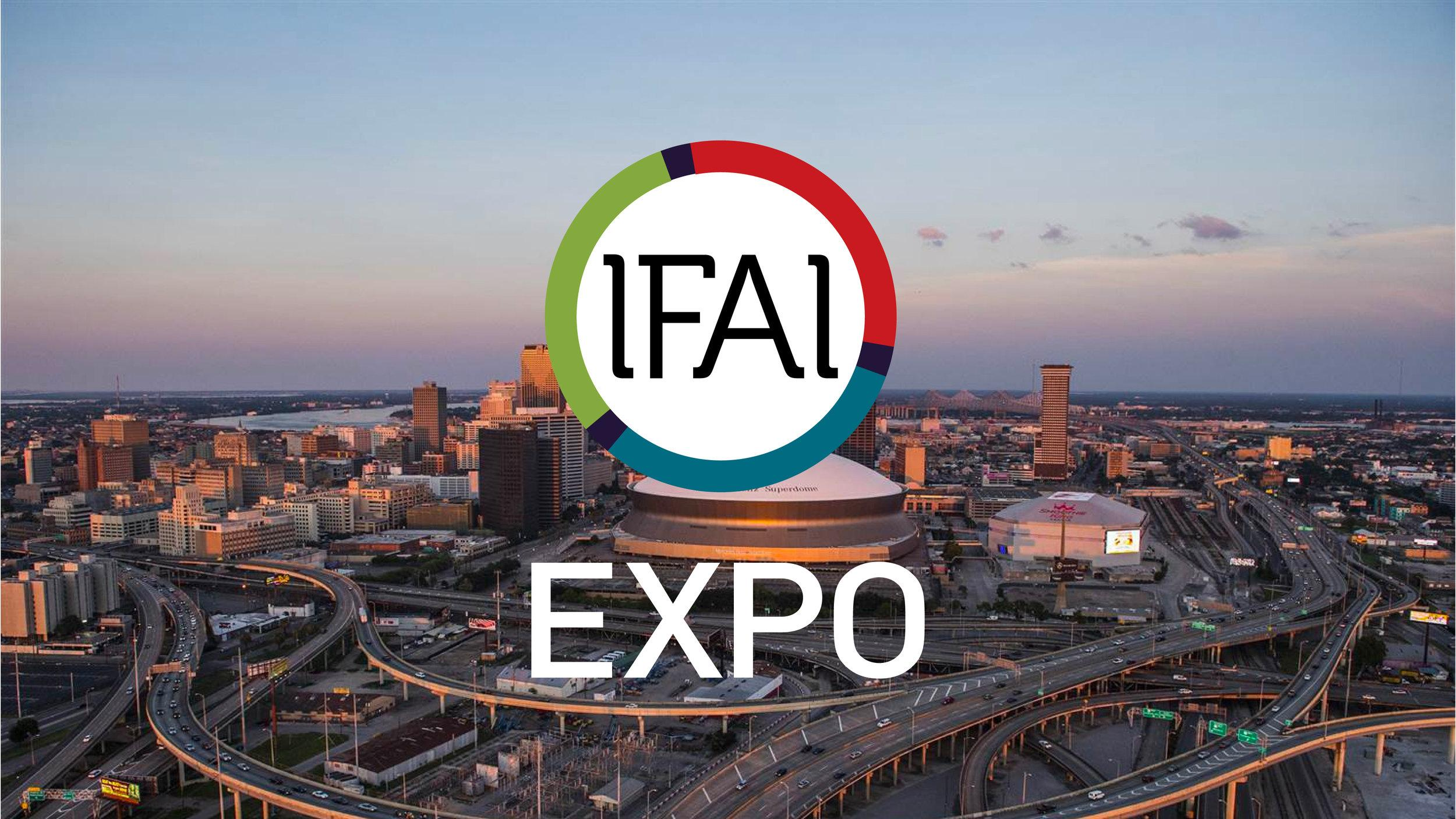 ASL attends AFAI Expo in New Orleans.