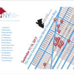 Map of New York Home Fashions Market Week