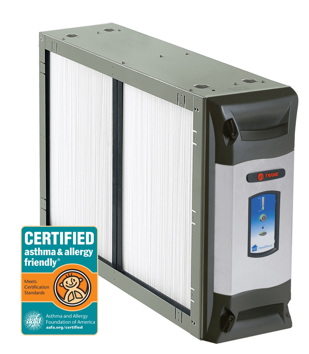 Trane® CleanEffects™ Air Cleaner Is the First Certified asthma & allergy friendly® Whole Home Air Cleaners Option