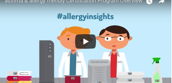 New Video asthma and allergy friendly Certification Program overview