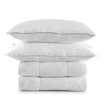 Bedding, pillows, duvets