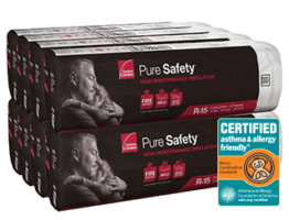 Owens Corning Pure Saftey High Performance Insulation gets certified