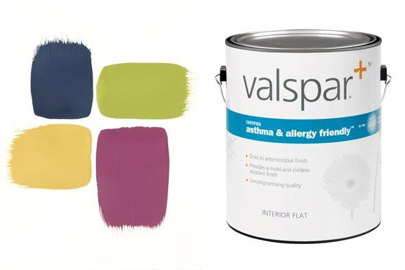 Valspar Plus® asthma & allergy friendly® paint Case Study
