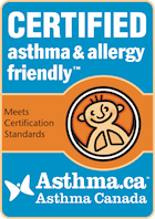 asthma & allergy friendly® Certification Program in association with Asthma Canada