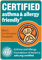 asthma & allergy friendly® Certification Program in association with AAFA