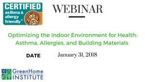 Webinar Improving Indoor Environment