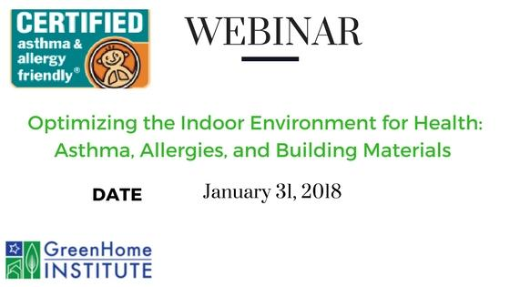 Webinar Improving Indoor Environment