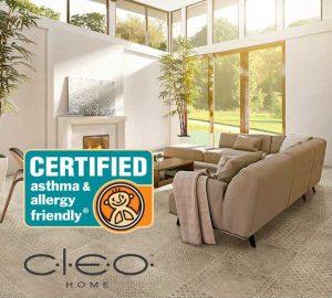 Congoleum CLEO certified asthma & allergy friendly, Allergy Standards