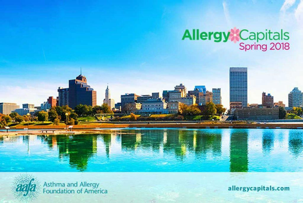 Spring Allergy Capitals™ 2018 report by AAFA