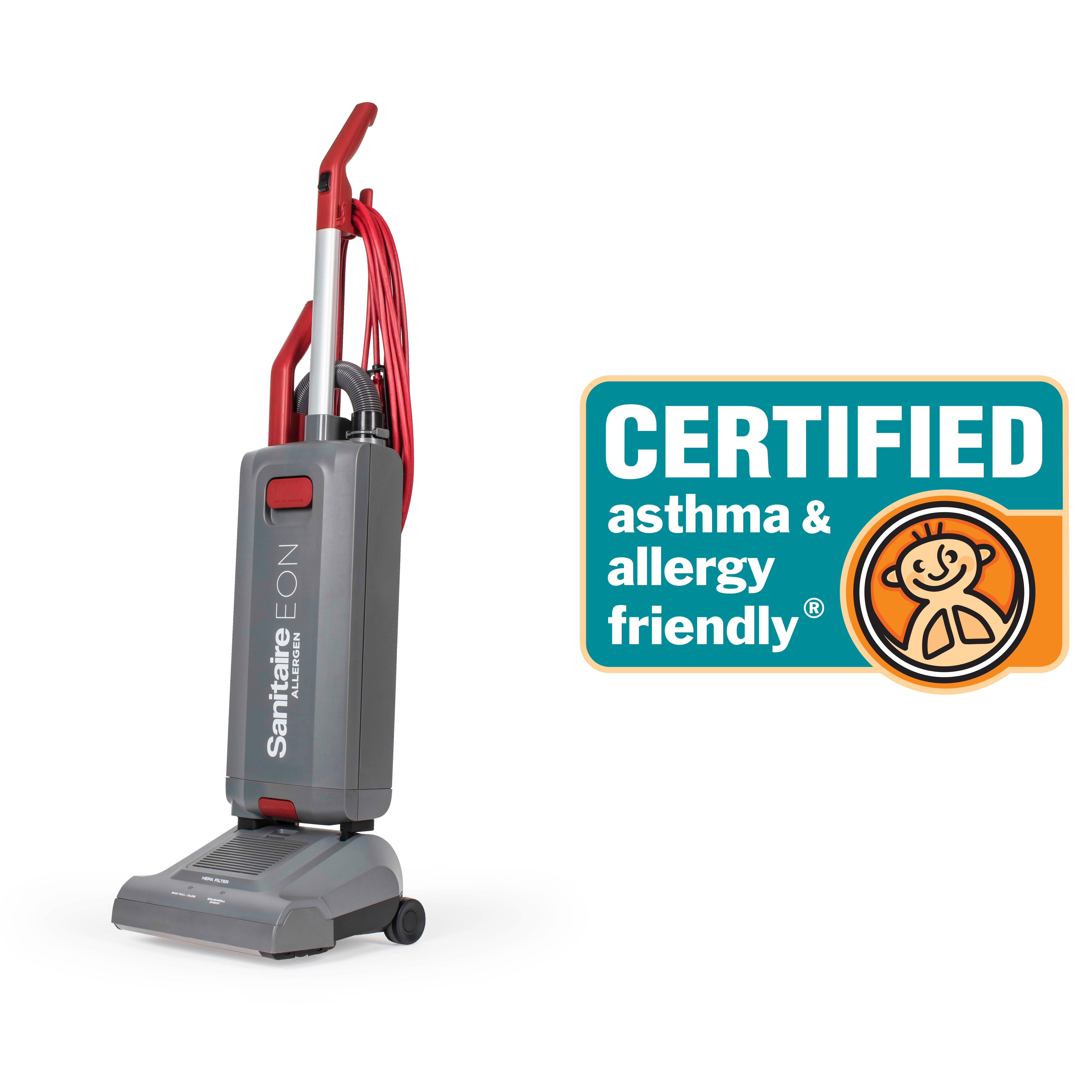 Sanitaire vacuum cleaner passed ASL scientific standards