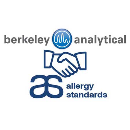 Berkeley Analytical and Allergy Standards partnership announcement