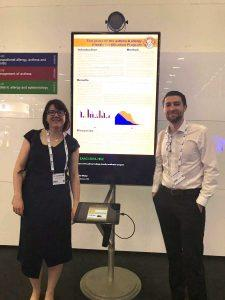 Cutting edge research in asthma and allergy – EAACI Congress 2018 - Jennifer Whelan and Joey DeCourcey