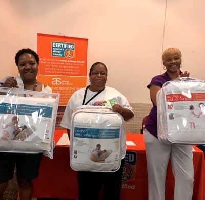 The Certification Program had fun celebrating JUNE HEALTHY HOMES MONTH during the Health and Wellness Conference at the U.S. Department of Housing and Urban Development (HUD) in Washington, DC.