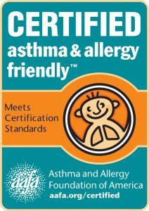 asthma & allergy friendly® Certification Program US logo