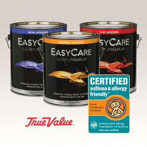 True Value Certified asthma & allergy friendly®
