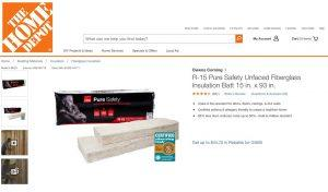 Pure Safety® Insulation Home Depot