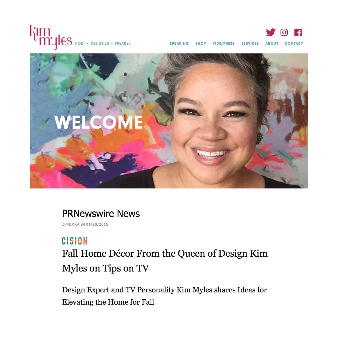 Famous Designer, Kim Myles, recommends Tarkett's floorings