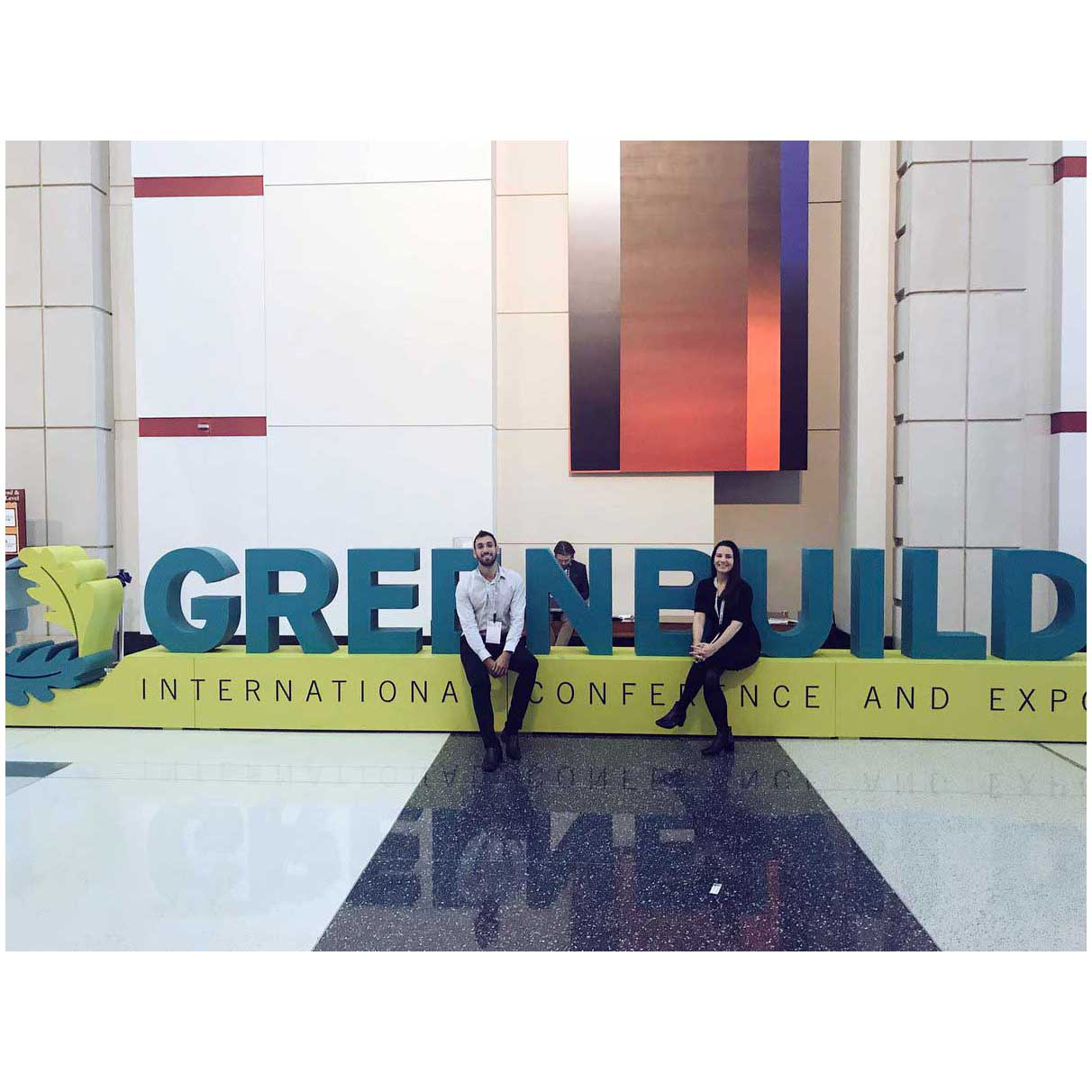 GreenBuild Conference Chicago Allergy Standards team