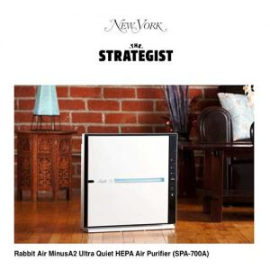 Recommended Rabbit Air air purifier in New York Mag - Certified asthma & allergy friendly®