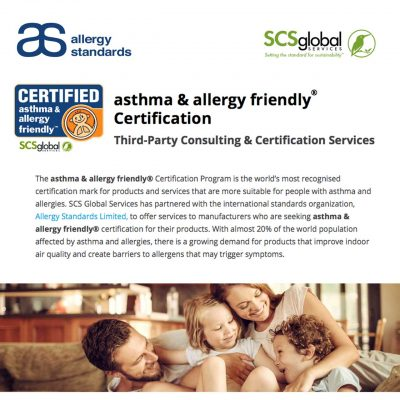 SCS Global Services Approved by Allergy Standards ASL