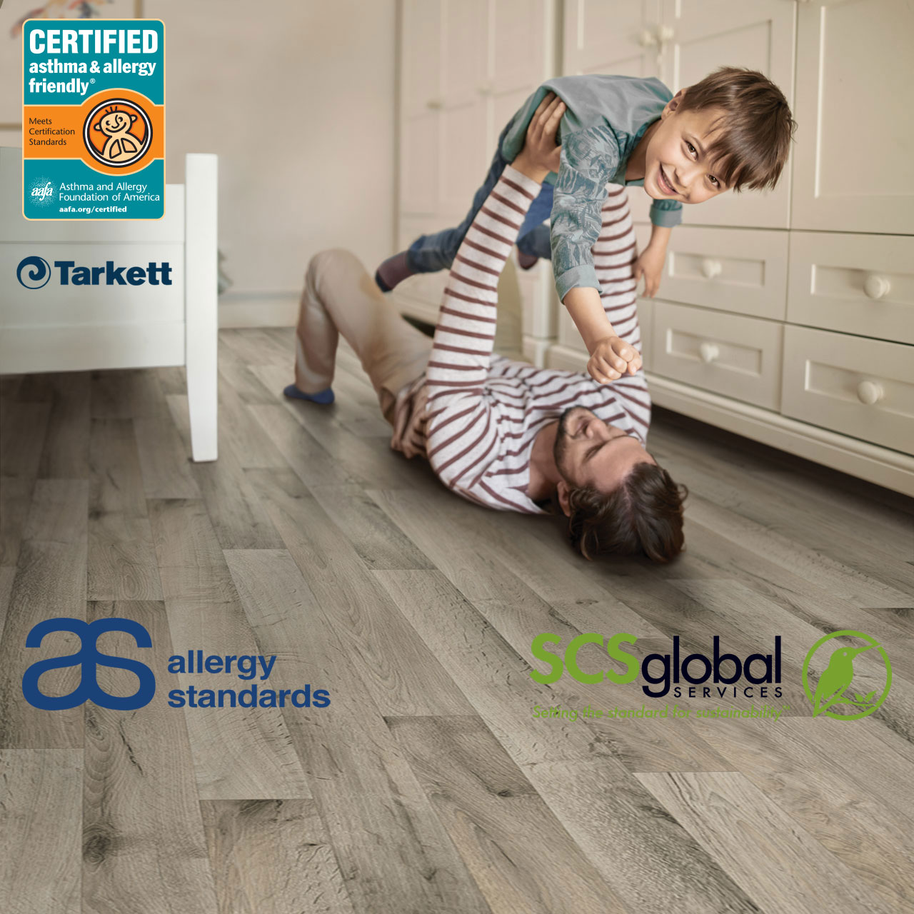 Brand Promises for Healthier Homes Tarkett Dhruv Raina Allergy Standards SCS Global Services