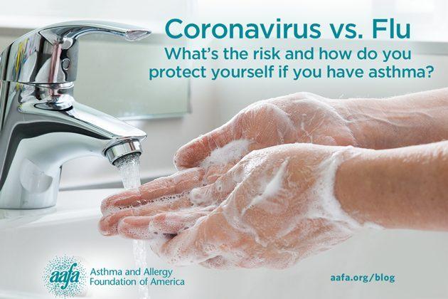 coronavirus vs. flu