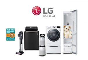 LG Allergen reducing home appliances