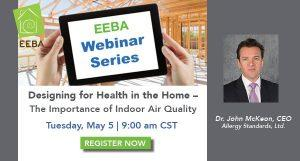Indoor air quality webinar with John McKeon